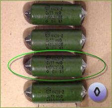 Russian AUDIO Capacitor K42Y-2 0.33uF 330nF 500V ◊ Rhomb (Diamond) 1 pc.or more