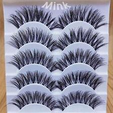 10 Pairs Graceful Makeup Handmade Natural Long Dense False Eyelashes Extension