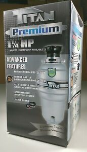 Titan Premium 1.25 HP Garbage Disposal T-1060 - NEW