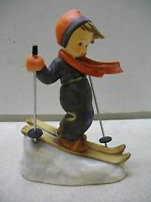 HUMMEL GOEBEL SKIER BOY ON SLOPE #59 FIGURINE