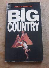 THE BIG COUNTRY by Donald Hamilton - 1st Delll printing PB 1971 - Texas - fine