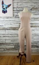 ASOS Womens Halter Jumpsuit Spaghetti Strap Pants Light Pink Size 6