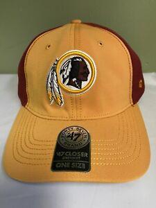 Washington Redskins 47 Brand NFL Draft Day Closer Stretch Fit Men's Hat