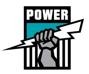Mobile Phone Sticker – Waterproof - AFL Port Adelaide Power