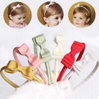 accessoires baby - stirnband elastische turban kopfbedeckungen bowknot haarband