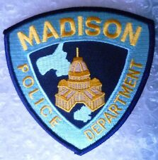 Patch- Madison US Police Department Patch (NEW, apx.100x100 mm)