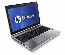 "HP Elitebook 8570p i5-3320m 2.67Ghz 8GB Ram 320GB HDD 15.6"" Laptop Win 10 USB 3"