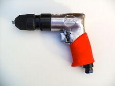"SIOUX TOOLS - REVERSIBLE PISTOL GRIP AIR DRILL 3/8""  10MM  KEYLESS  NEW  5445RKL"