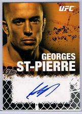 UFC; GEORGES ST-PIERRE ONYX AUTOGRAPH CARD 67/88