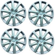 "Phoenix 16"" Car Wheel Trims Hub Caps Plastic Covers Silver Universal (4Pcs)"