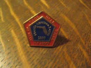 Florida American Legion USA Army Marines Navy Coast Guard 2007 Lapel Hat Pin