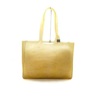 Chanel Tote Bag  Yellows Rubber 1726922