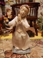 Lladro Communion Prayer Girl #6089 Brand Nib Religious Flower Cute Save$ F/Sh
