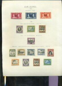 Cook Islands KGVI MH collection inc better vals