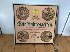 DGG 139 254./256 Haydn die jahreszeiten  The Seasons Karl Böhm 3x LP Box Sample