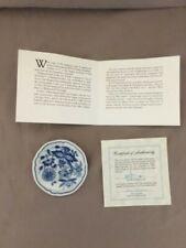 Franklin Mint Miniature Plates of World's Great Porcelain Houses
