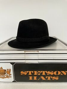 """Vintage Stetson """"The Sovereign"""" Hat in Original Box"""