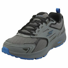 Skechers Go Run Consistent Mens Charcoal Blue Running Trainers