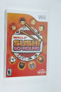 NINTENDO WII MINICLIP SUSHI GO-ROUND NEW FACTORY SEALED SHIPS SAME DAY
