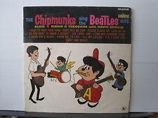 THE CHIPMUNKS Sing The Beatles MONO UK LIBERTY RECORDS VINYL LP Free UK Post