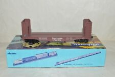 HO scale Athearn Southern Pacific RR 40' pulpwood rack flat car train KD's