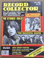 Record Collector Magazine #136 - December 1990 - The Stones, LED Zeppelin.