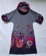 Ladies size 10 Floral Turtleneck Dress BNWT