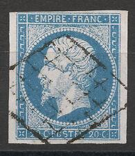 NAPOLÉON N°14, oblitération GRILLE, signé Calves, TTB