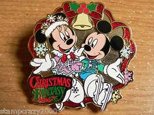 Christmas Fantasy 2010 MICKEY & MINNIE - Disney Japan Ambassador Hotel Pin VHTF