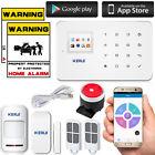KERUI G18 Wireless GSM Home Alarm Security Burglar Intruder System 110dB Siren