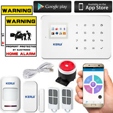 KERUI G18 Wireless GSM Home Alarm Security Burglar Intruder System 110dB Siren