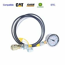 400BAR/6000PSI Caterpillar excvavtor Hydraulic Test Coupling and gauge hose Kit