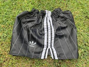 Adidas Nylon Sprinter Shorts Glanz Vintage Football Swim Retro Gym  Running