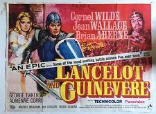More details for original uk quad film movie poster lancelot and guinevere ~ cornel wilde 1963/4