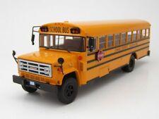 GMC 6000 Amerikanischer Schulbus 1990 gelb, Modellauto 1:43 / ixo models