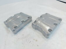 Harley Polished Twin Cam Touring Dyna & Softail Cylinder Head Cover Rocker Boxes