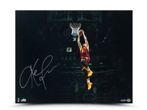 """Kevin Love Signed Autographed 16X20 Photo """"Arena View"""" Cleveland Cavaliers UDA"""