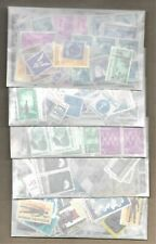 Mint Singles 3-Cent To 8-Cent Commemorative In 5 Envelopes 100 Each Mint Fv $26