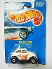 HOT WHEELS  2542 VW BAJA BUG IN WHITE. ISSUED 1990. MIB