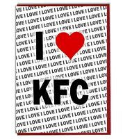 Greeting Card - Birthday Card - I Love KFC