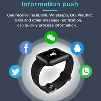 Smartwatch Hombres Mujeres Smartband Presión Arterial Medida Impermeable Fitness