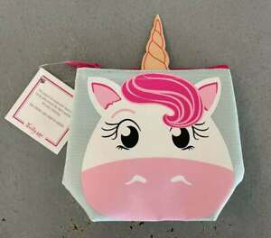 Thirty-One Gifts Unicorn Cool Zip Snacker Kids Lunch Container NEW