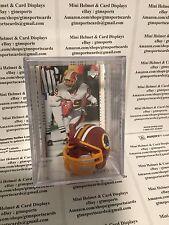 Santana Moss Washington Redskins Mini Helmet Card Display Collectible Auto WR