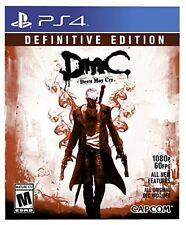 PLAYSTATION 4 PS3 GAME DEVIL MAY CRY DMC DEFINITIVE EDITION BRAND NEW SEALED