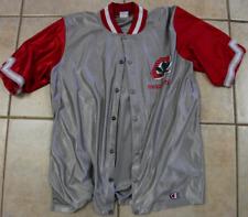 Vintage Champion 1990's Ohio State Buckeyes Basketball Button Up Large Jacket