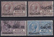 1924 REGNO D' ITALIA P.PNEUMATICA NR.4/7 USATO RR
