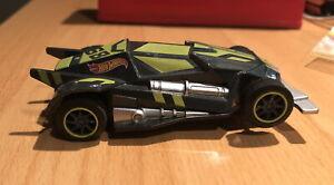 2016 Mattel KidzTech Toys Hot Wheels Slot Car #68 Green with Lights