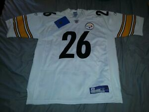 DESHEA TOWNSEND #26 PITTSBURGH STEELERS AUTHENTIC AWAY FOOTBALL JERSEY sz 48 NWT