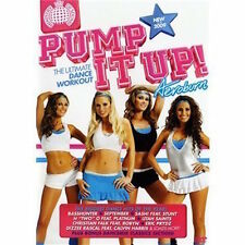 Ministry Of Sound Pump It Up Aeroburn Exercise Fitness DVD FREE SHIPPING