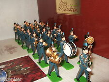 Britains 41151 Rare 21 Piece Marching Band of the Royal Air Force 2 Tier Box Set
